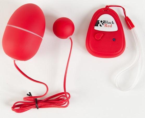 Красный вибронабор с пультом