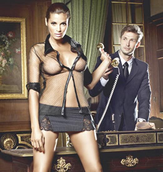Женский игровой костюм «Мечта босса»