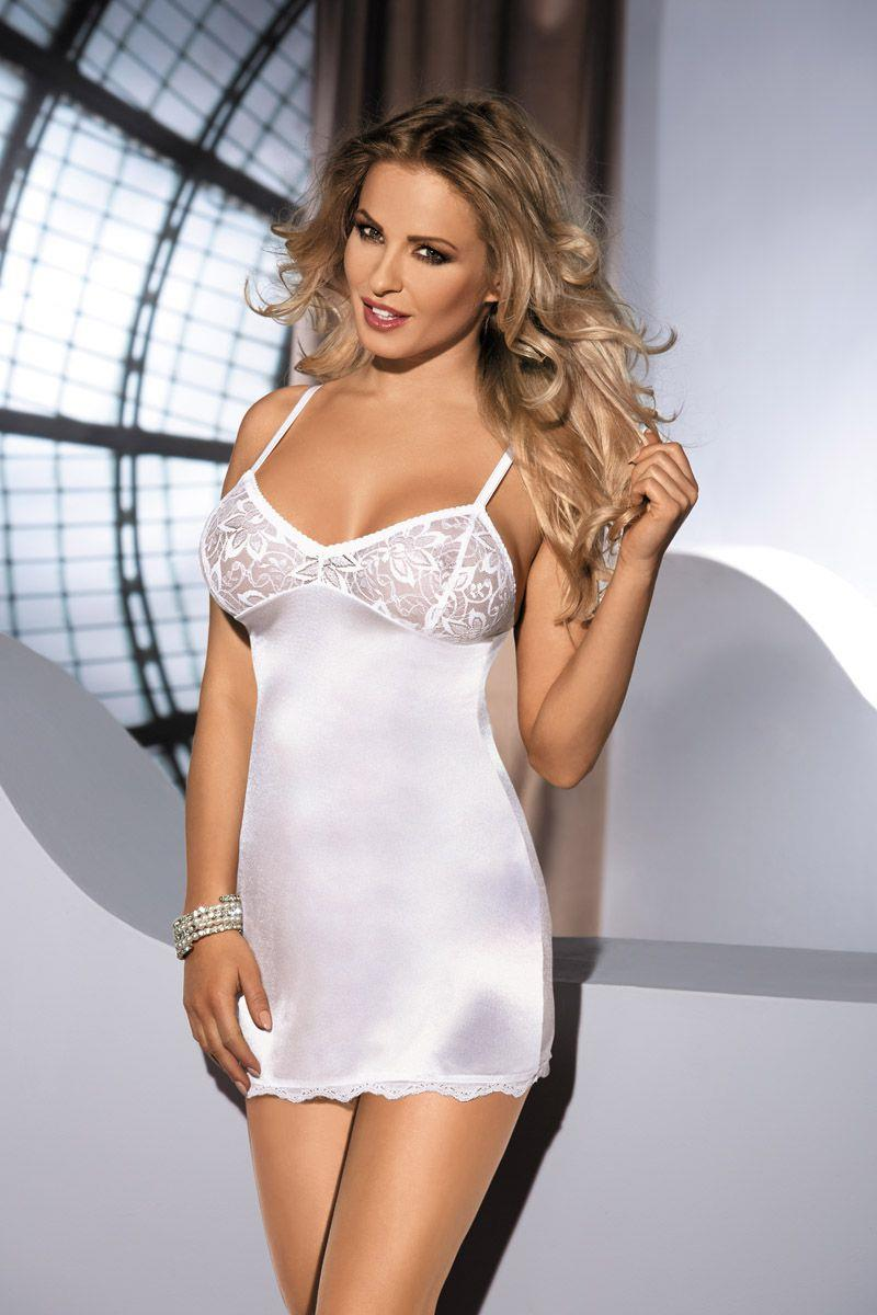 Сорочка Malika с кружевным лифом