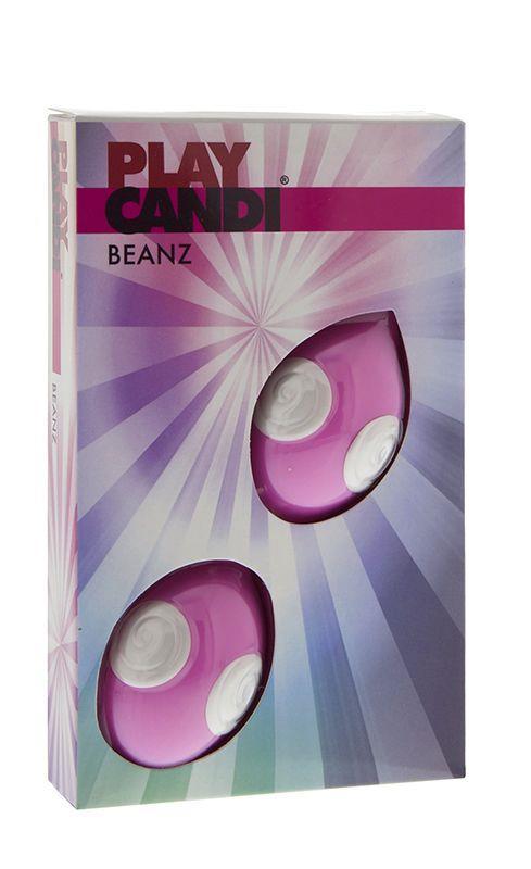 Розовые вагинальные шарики PLAY CANDI