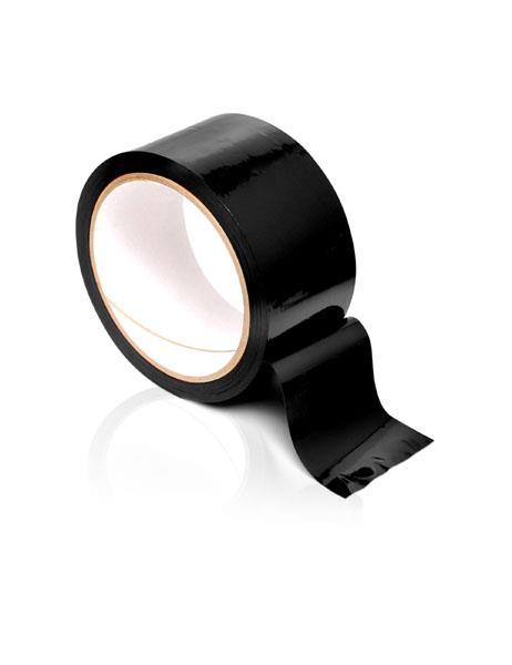 Черная самоклеющаяся лента для связывания «Pleasure Tape»