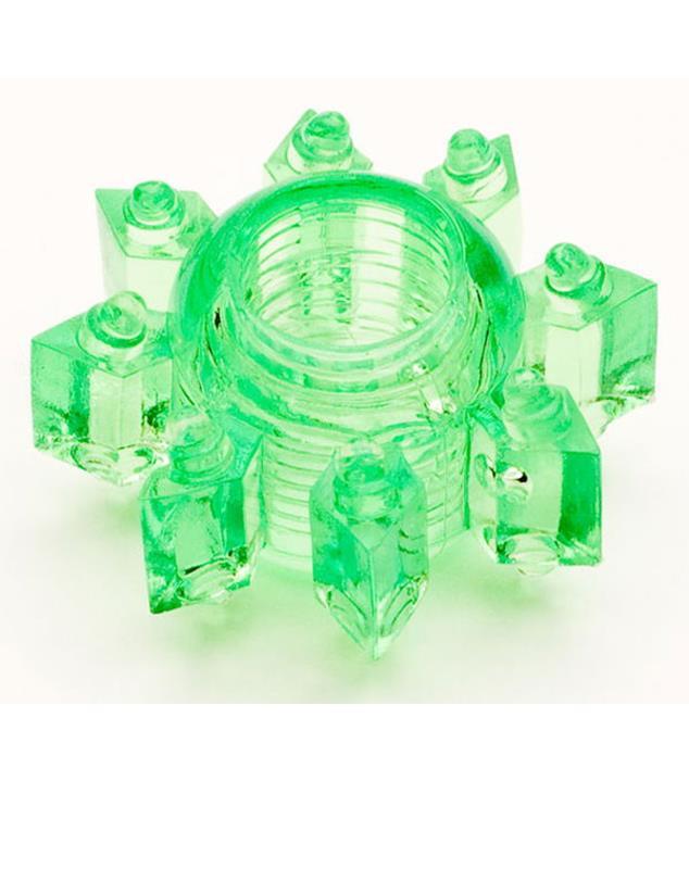 Зеленое гелевое эрекционное кольцо