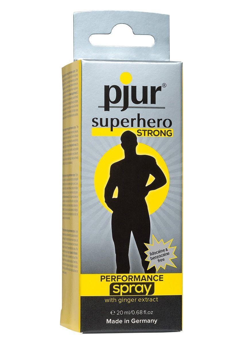 Спрей-пролонгатор pjur SUPERHERO Strong Spray - 20 мл.
