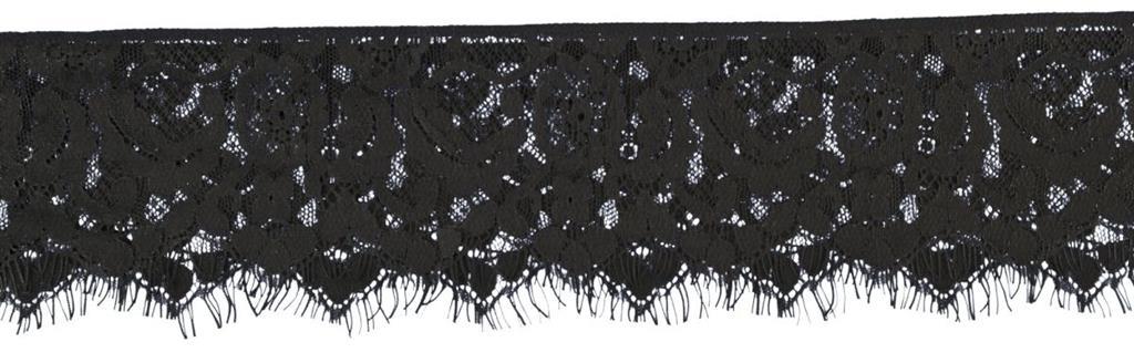 Черная кружевная маска Mystere Lace Mask
