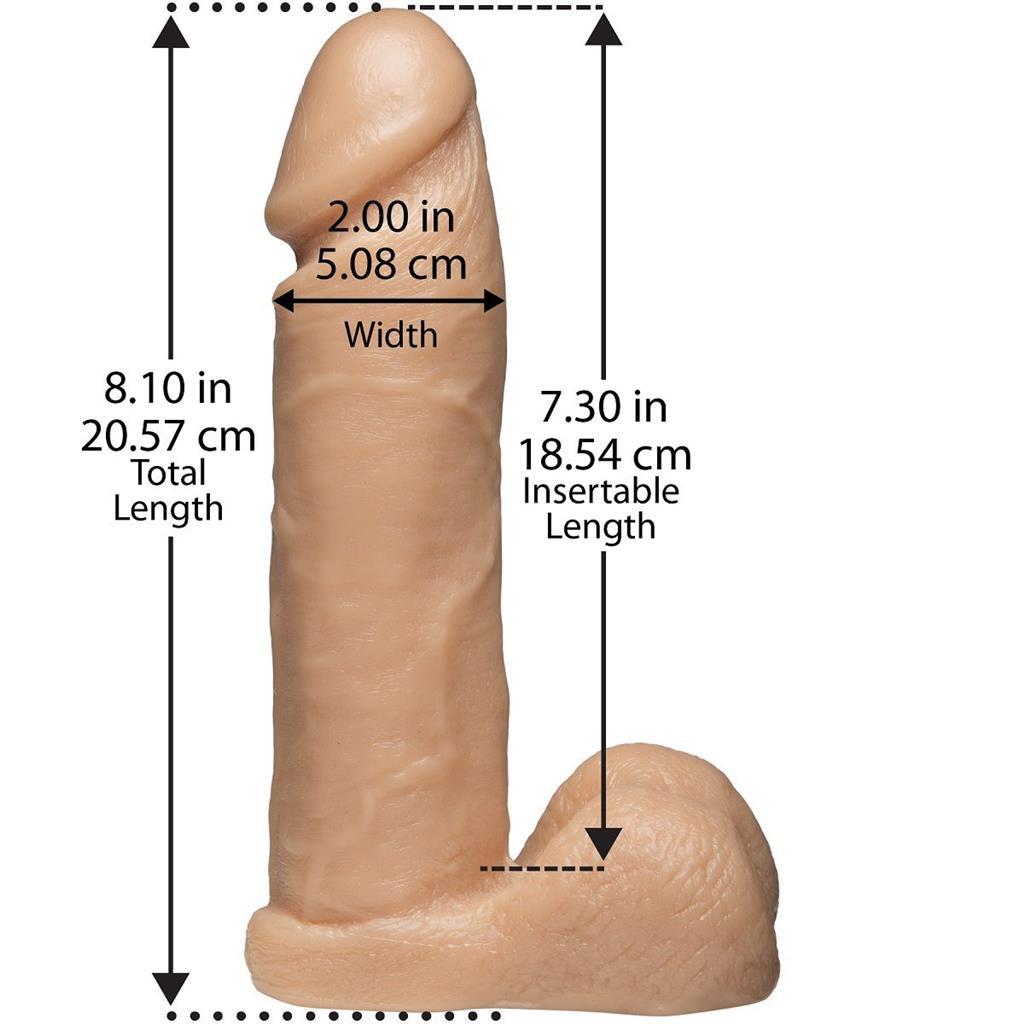 Трусики Harness с реалистичной насадкой (20,6 см)