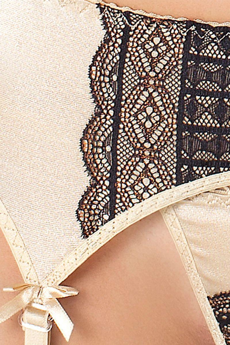 Чарующий комплект белья Olimpia с открытым лифом