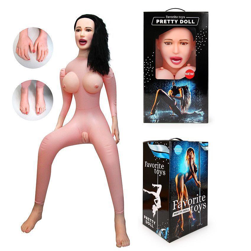 Секс-кукла с вибрацией Виктория