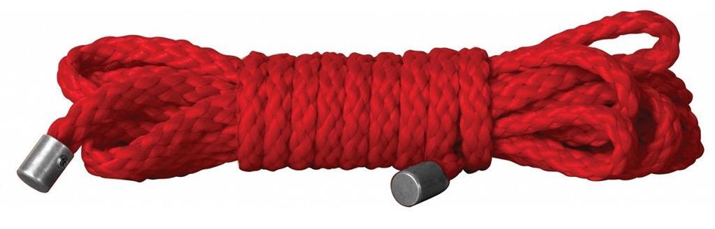 Красная веревка для бондажа Kinbaku Mini - 1,5 м.