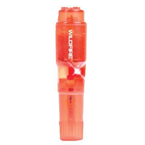 Красная водонепроницаемая виброракета Wildfire Rock-In Waterproof Massager