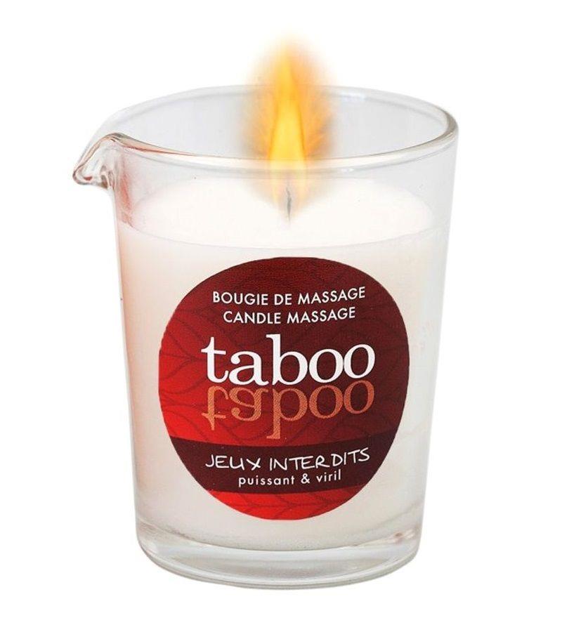 Массажное аромамасло с афродизиаками для мужчин RUF Taboo Jeux interdits (60 гр)