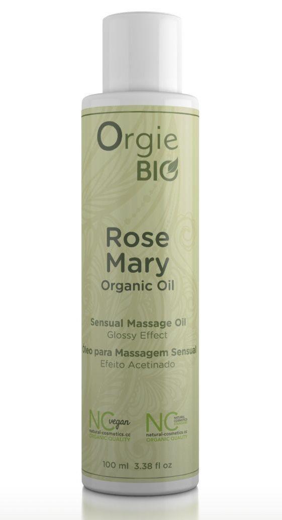 Органическое масло для массажа ORGIE Bio Rosemary с ароматом розмарина (100 мл)