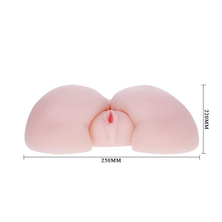 Вибрирующий мастурбатор-попка с вибропулей и пультом управления