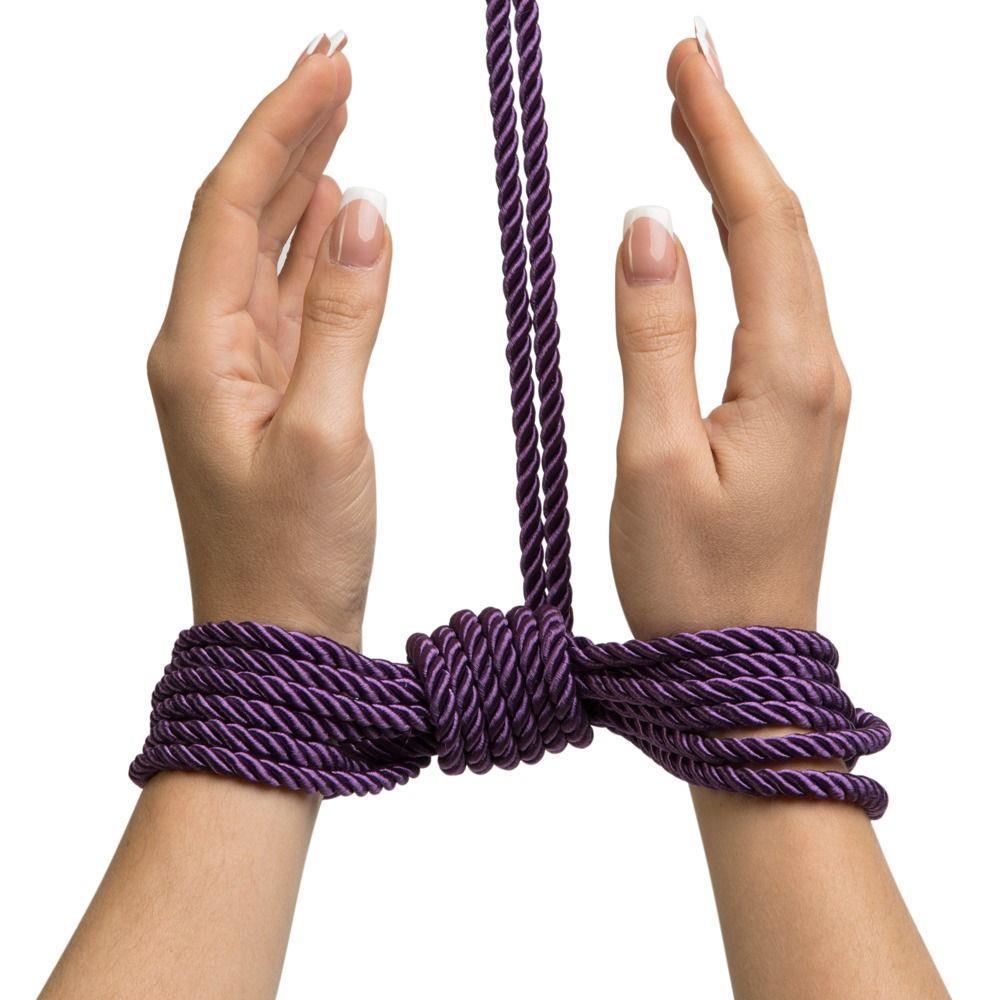 Фиолетовая веревка для связывания Want to Play? (10 м)