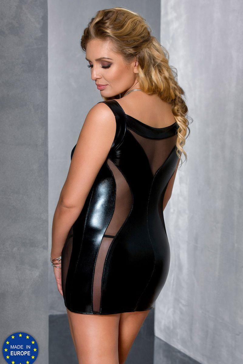 Ультра сексуальная сорочка Donata Plus Size со шнуровкой