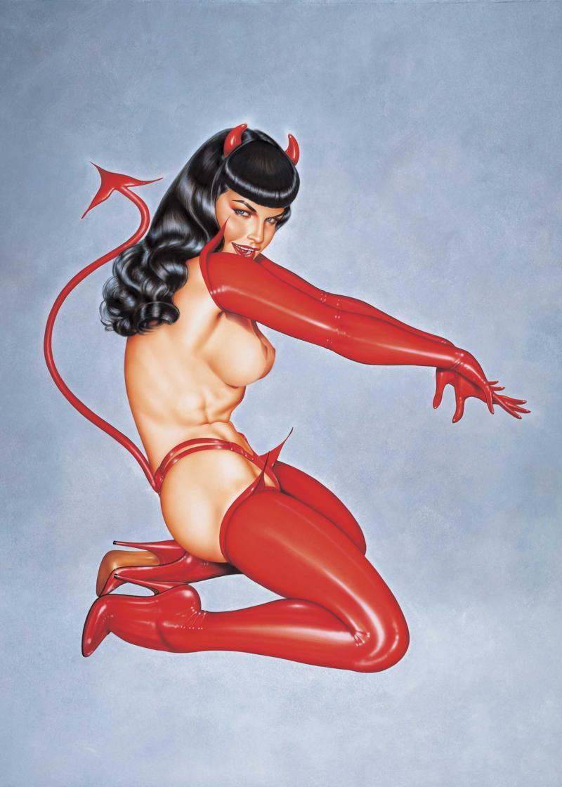Красный комплект «Дьяволенок»