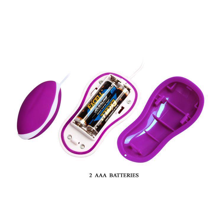 Фиолетовое виброяйцо Avery с выносным пультом управления