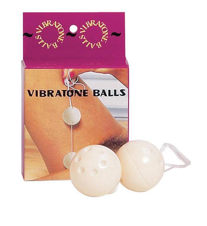 Пластиковые вагинальные шарики «VIBRATONE BALLS»