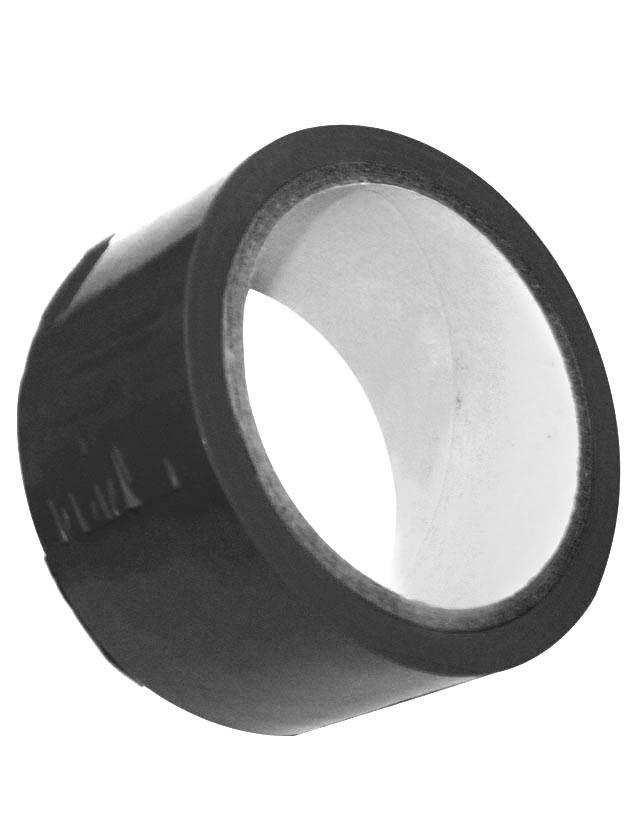 Липкая лента S M Bondage Tape чёрного цвета - 18 м.