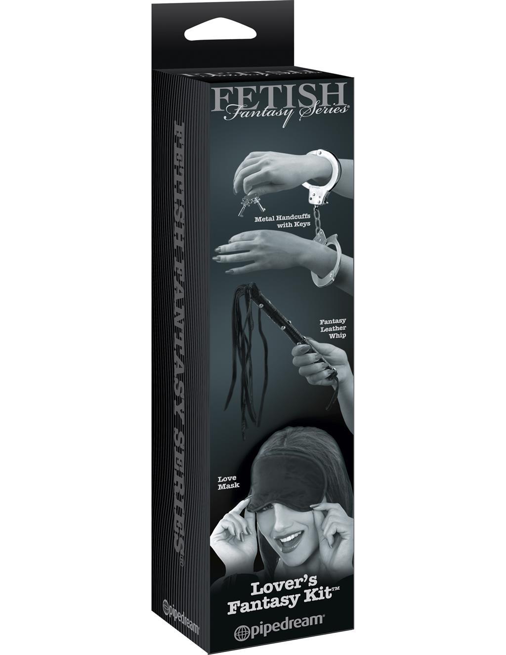 Набор для BDSM развлечений Lover's Fantasy Kit