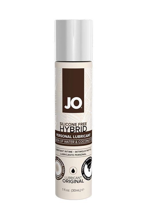 Водно-масляный лубрикант JO Silicon free Hybrid Lubricant ORIGINAL- 30 мл.