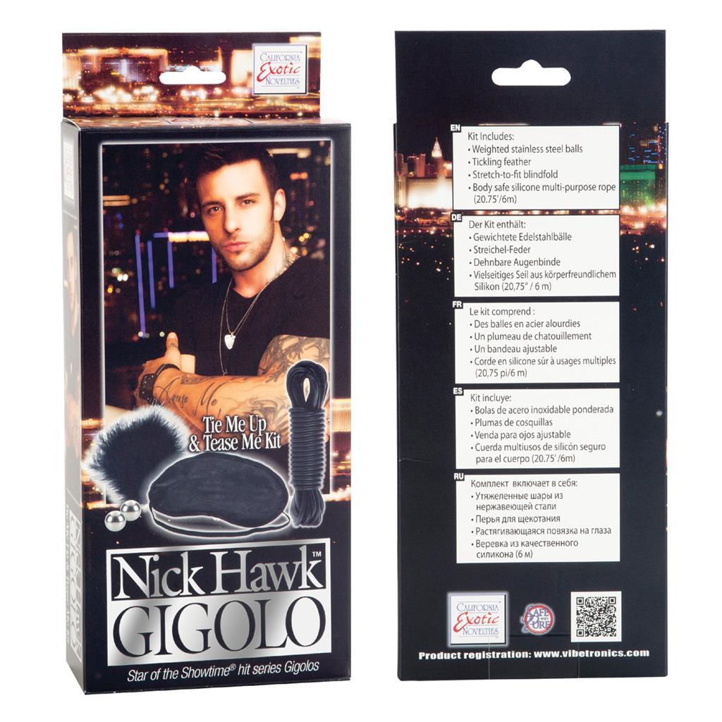 Набор «Nick Hawk GIGOLO Tie Me Up & Tease Me Kit»