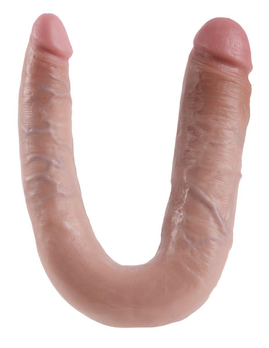 Двусторонний фаллоимитатор LARGE DOUBLE TROUBLE (44,4 см)