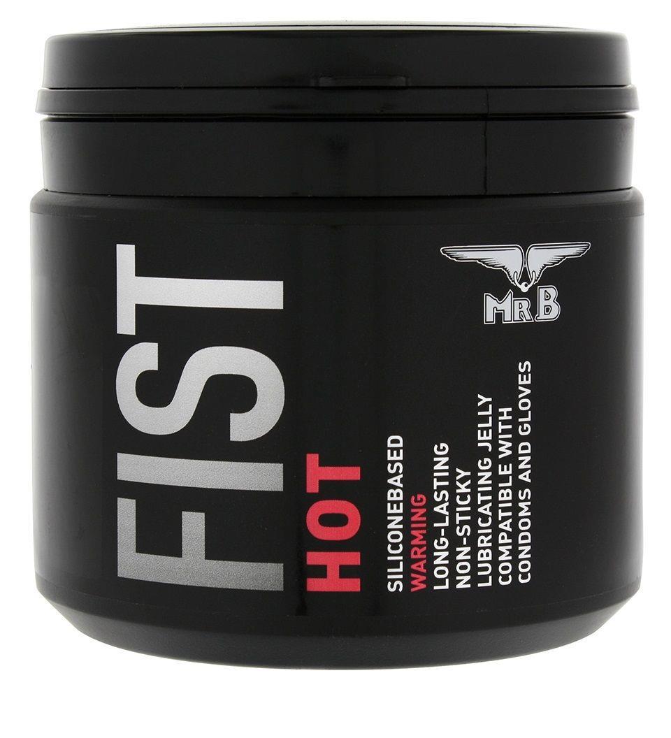 Силиконовый согревающий гель для фистинга Mister B Fist Hot Lube - 500 мл.