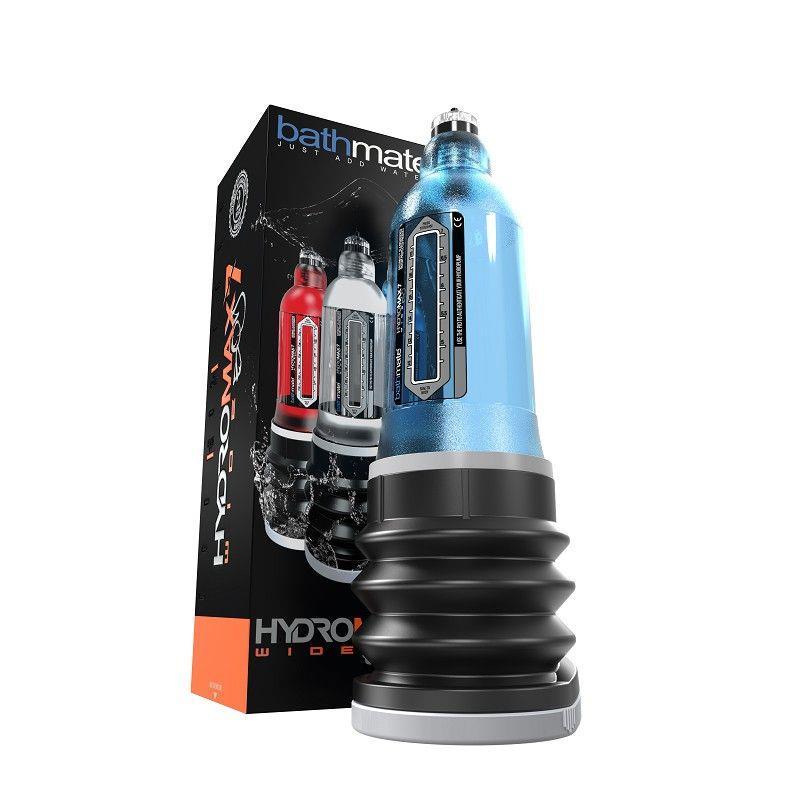 Синяя гидропомпа Bathmate - HydroMAX7 Wide Boy