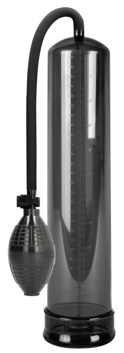 Черная вакуумная помпа Classic XL Extender Pump
