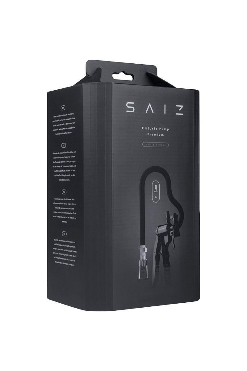 Помпа для клитора SAIZ Clitoris Premium с рычагом