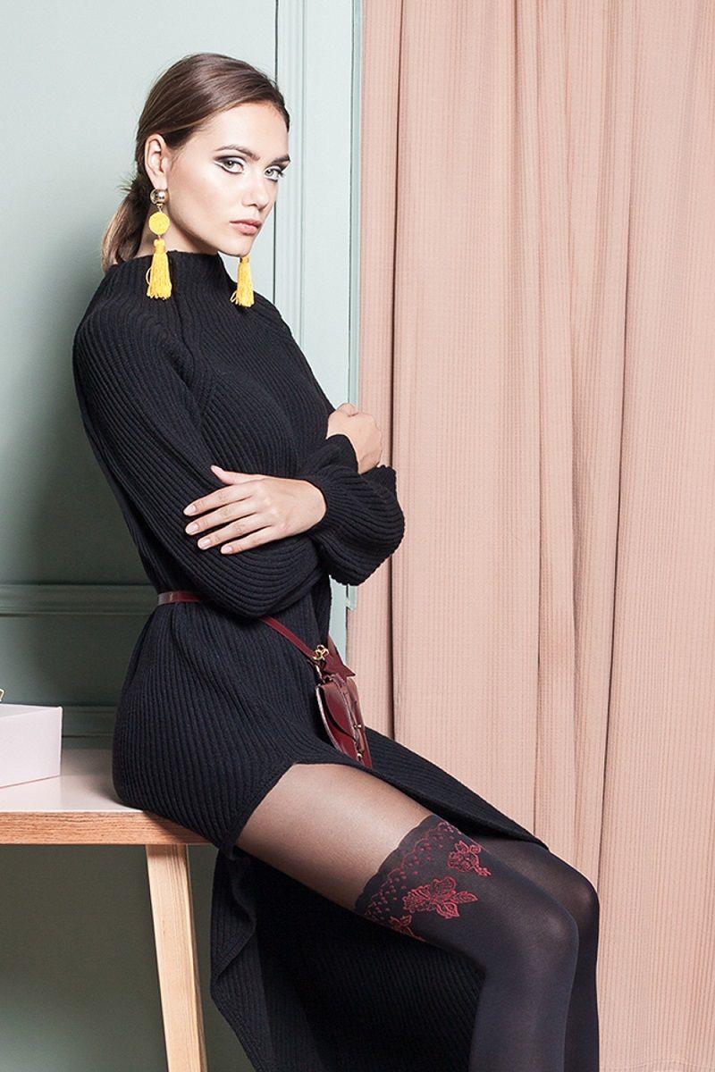 Фантазийные колготки Cheryl с имитацией чулок