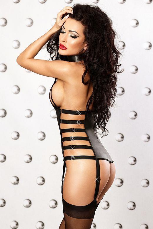 Чувственный корсаж Impression corset с эластичными ремнями