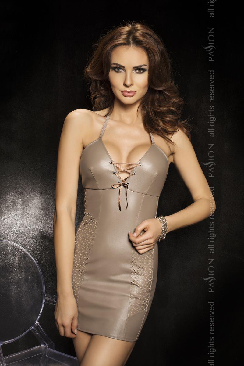 Платье Bahia с перфорированными вставками