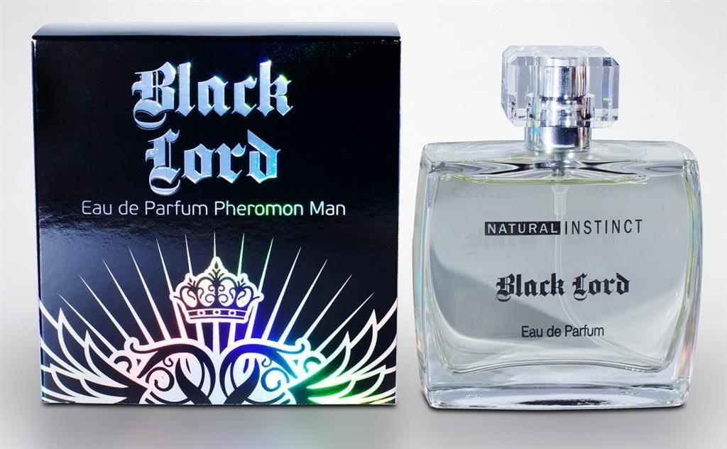 Мужская парфюмерная вода с феромонами Natural Instinct Black Lord - 100 мл.