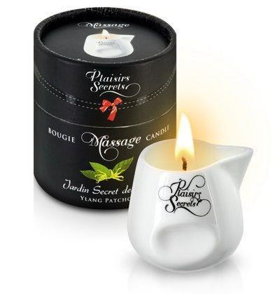 Массажная свеча с ароматом иланг-иланга и пачули Jardin Secret Des Iles Ylang/pat - 80 мл.