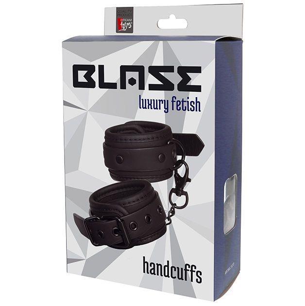 Стильные чёрные наручники BLAZE HANDCUFF