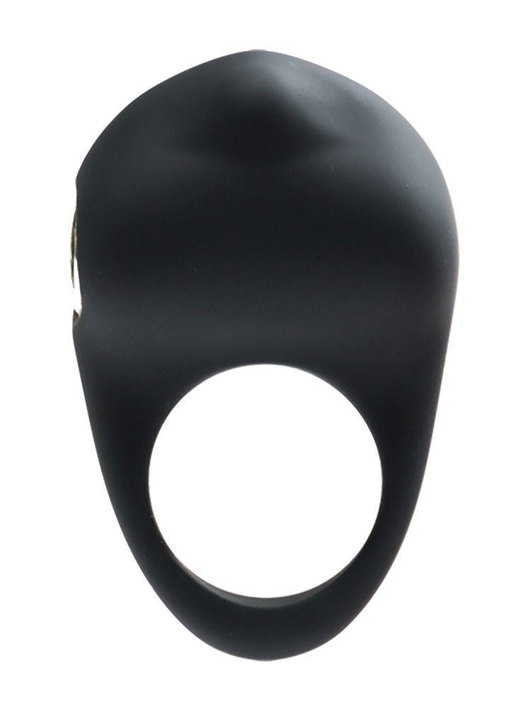 Чёрное виброкольцо VeDO Roq