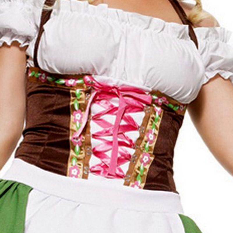 Зелёный костюм Баварочка