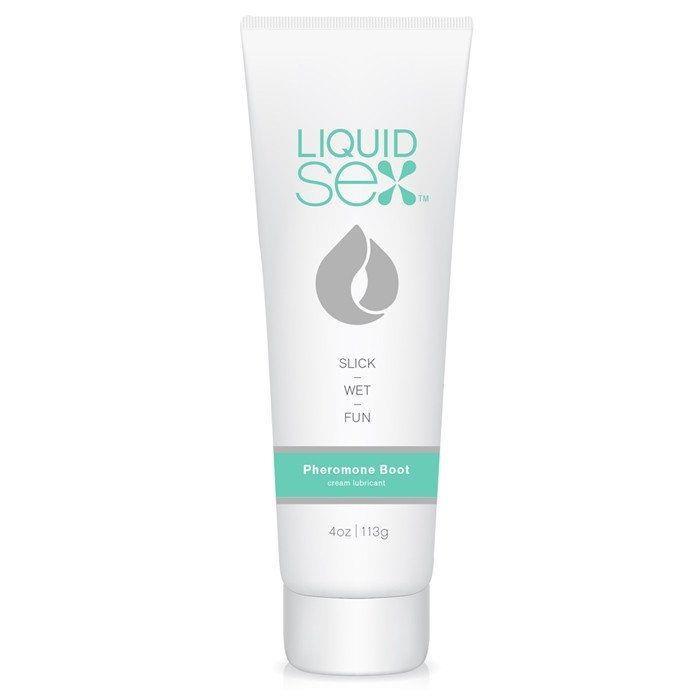 Лубрикант с феромонами Liquid Sex Pheromone Boost Cream Lube - 113 гр.