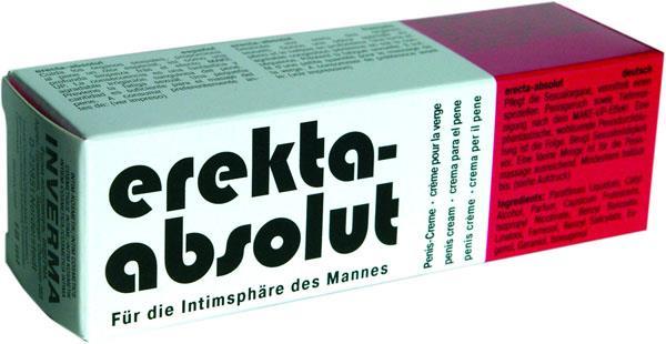 Возбуждающий и освежающий крем Erekta-Absolut - 18 мл.