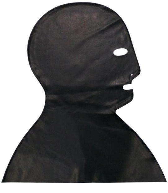 Латексная маска-шлем Executioner с прорезями