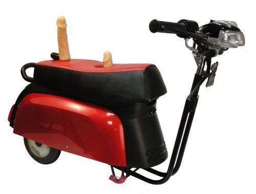 Секс-машина Super Motor в форме мотоцикла
