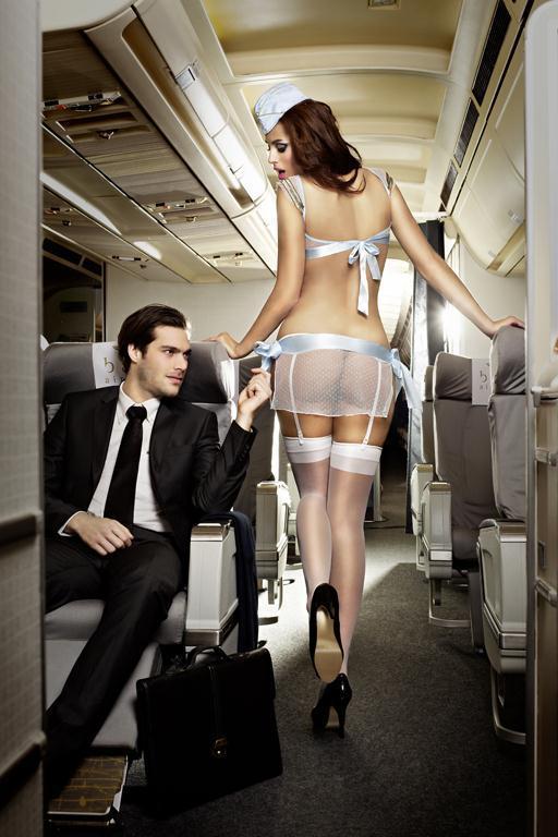 Игровой костюм улётной стюардессы