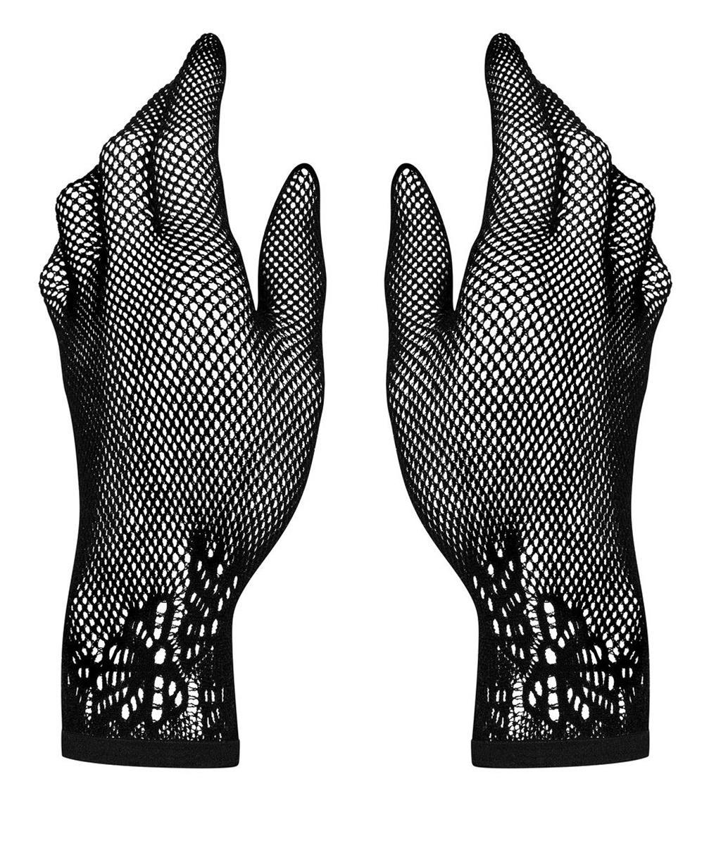 Перчатки Lustella из тонкой сетчатой ткани