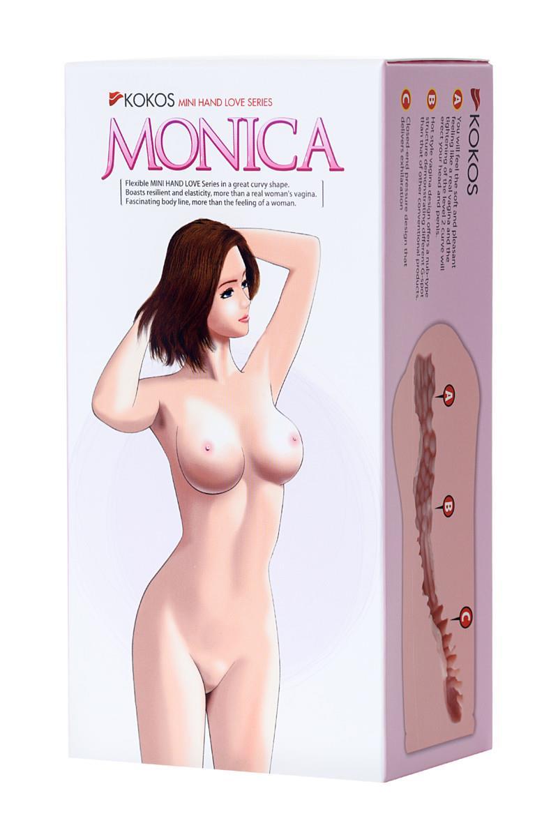 Мастурбатор вагина MONICA без вибрации