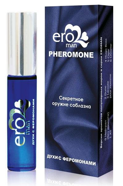Мужские духи с феромонами Eroman №5. Аромат Cigar (10 мл)