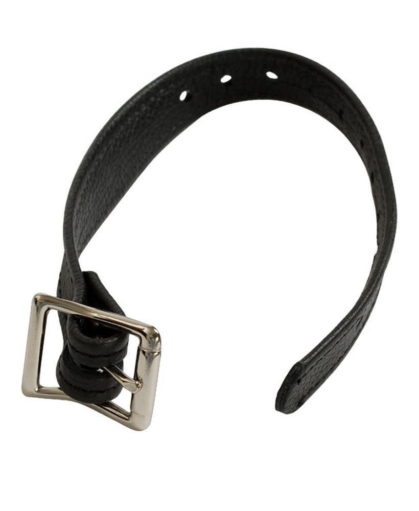 Кожаные трусики «Harness» со штырьком для фиксации насадок