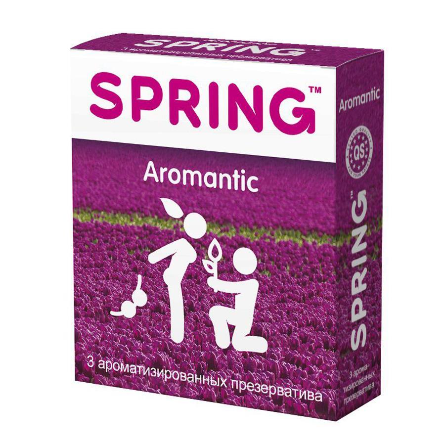 Ароматизированные презервативы SPRING AROMANTIC (3 шт)