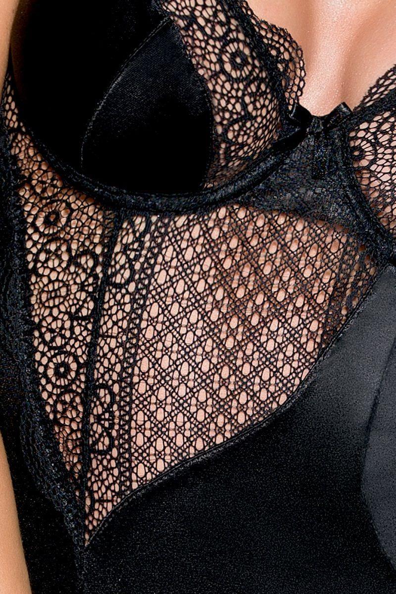 Сорочка Zahara с полупрозрачными кружевными элементами