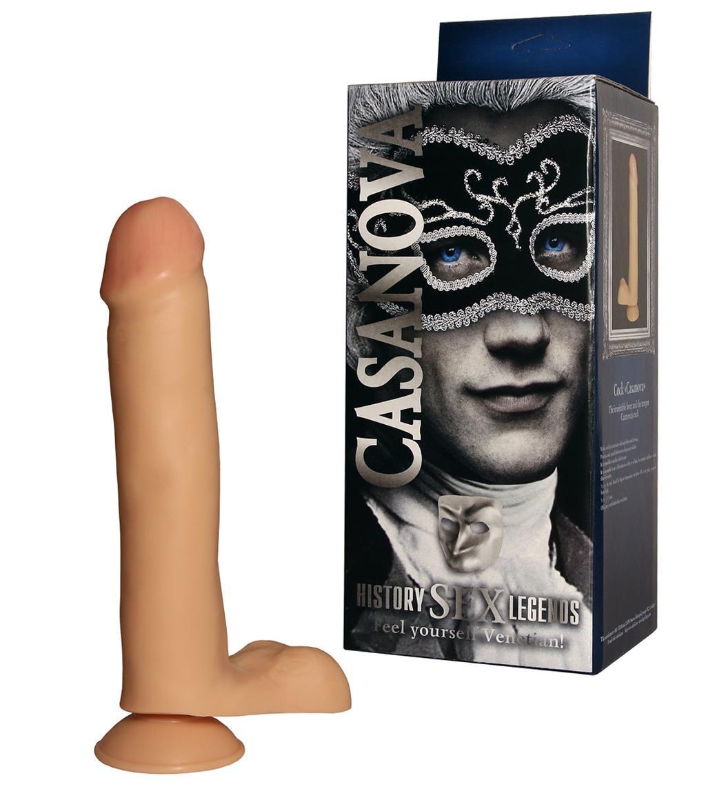 Фаллоимитатор на присоске «History Sex Legend - Casanova» (23 см)
